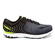Mens Brooks PureFlow 6 Running Shoe - Black/Lime 8
