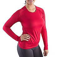 Katie K Long Sleeve Technical Tops - Rose L