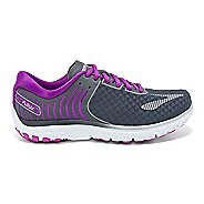 Womens Brooks PureFlow 6 Running Shoe - Anthracite/Silver 6.5
