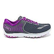 Womens Brooks PureFlow 6 Running Shoe - Anthracite/Silver 7