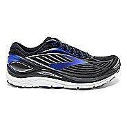 Mens Brooks Transcend 4 Running Shoe - Black/Blue 8