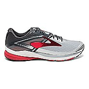 Mens Brooks Ravenna 8 Running Shoe - Silver/Red 11.5