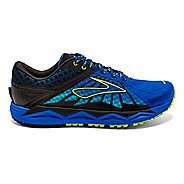 Mens Brooks Caldera Trail Running Shoe - Electric Blue 8