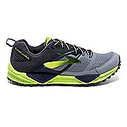 Mens Brooks Cascadia 12 Trail Running Shoe - Primer Grey 12.5