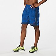 "Mens Road Runner Sports Power Up 2-in-1 6"" Printed Shorts"