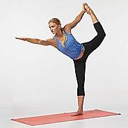 Womens Road Runner Sports Leg Up Capri II Tights - Black XS