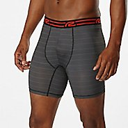"Mens Road Runner Sports SuperLight 6"" Printed Boxer Brief Underwear Bottoms"
