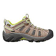 Womens Keen Voyageur Hiking Shoe - Grey/Green 8.5