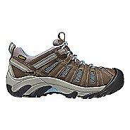 Womens Keen Voyageur Hiking Shoe - Brindle/Blue 9