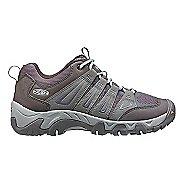 Womens Keen Oakridge Hiking Shoe - Grey/Aqua 6