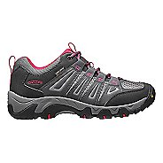 Womens Keen Oakridge WP Hiking Shoe - Magnet/Rose 10