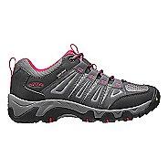 Womens Keen Oakridge WP Hiking Shoe - Magnet/Rose 8.5