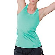 Womens Soybu Resistance Sleeveless & Tank Technical Tops - Jade L