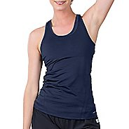 Womens Soybu Resistance Sleeveless & Tank Technical Tops - Navy L
