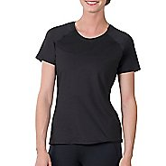 Womens Soybu Endurance SS Tee Short Sleeve Technical Tops - Black L