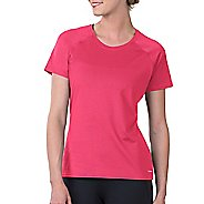Womens Soybu Endurance SS Tee Short Sleeve Technical Tops - Pink XS