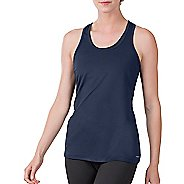 Womens Soybu Victory Sleeveless & Tank Technical Tops - Navy S