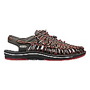 Mens Keen Uneek Casual Shoe - Red/Brown 10.5