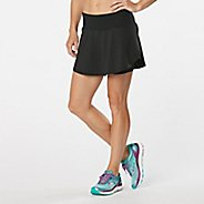 Womens Road Runner Sports PowerPlay Skort Fitness Skirts - Black XL