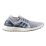 Womens adidas Ultra Boost X Running Shoe - Grey/Orange 10.5