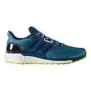 Mens adidas Supernova Running Shoe - Blue/Yellow 11
