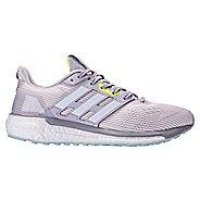 Womens adidas Supernova Running Shoe - Grey/Green 10.5