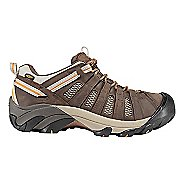 Mens Keen Voyageur Hiking Shoe - Black Olive/Gold 12