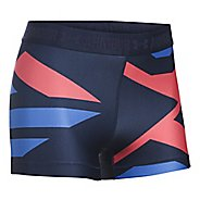 Womens Under Armour Heatgear Engineered Shorty Unlined Shorts