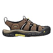 Mens Keen Newport H2 Sandals Shoe - Dark Earth 11