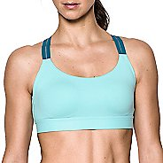 Womens Under Armour Eclipse Low Sports Bra - Blue Infinity L