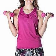 Womens Skirt Sports Free Flow Sleeveless and Tank Technical Tops - Razz XS