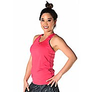 Womens Skirt Sports Free Flow Sleeveless and Tank Technical Tops - Cosmo Pink XL