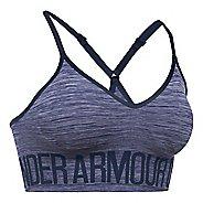 Womens Under Armour Seamless Streaky Heather Sports Bras - Midnight Navy XS