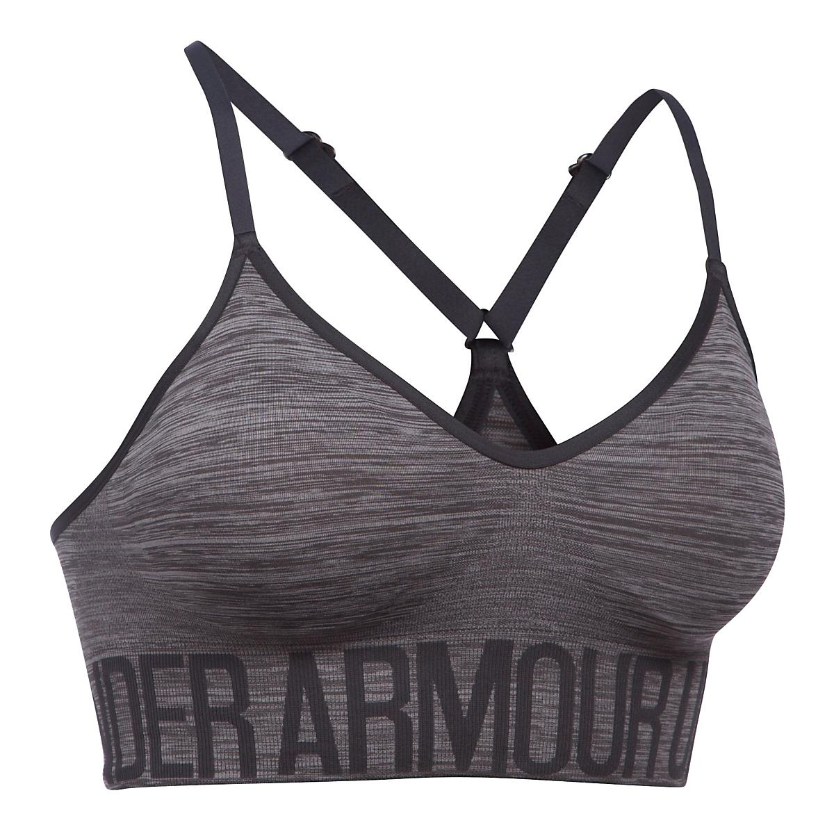 Womens Under Armour Seamless Streaky Heather Sports Bras at Road Runner  Sports bb3301e5457f