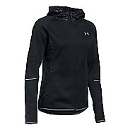 Womens Under Armour Storm Swacket Full-Zip Running Jackets - Black M