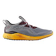 Mens adidas AlphaBounce EM Running Shoe - Gold/Maroon 10.5