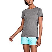 Womens Under Armour HeatGear Short Sleeve Technical Tops