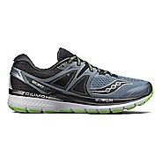 Mens Saucony Triumph ISO 3 Running Shoe - Black/Green 8.5
