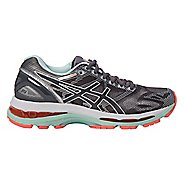 Womens ASICS GEL-Nimbus 19 Running Shoe - Grey/Coral 5