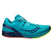 Womens Saucony Freedom ISO Running Shoe - Blue 9