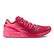 Womens Saucony Freedom ISO Running Shoe - Berry Pink 5.5