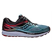Mens Saucony Guide 10 Running Shoe - Blue/Black 8.5