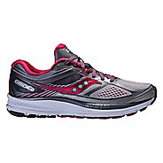 Womens Saucony Guide 10 Running Shoe - Silver/Berry 6
