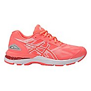 Kids ASICS GEL-Nimbus 19 Running Shoe - Coral/White 4Y