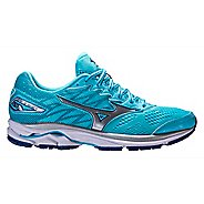 Womens Mizuno Wave Rider 20 Running Shoe - Blue 7.5