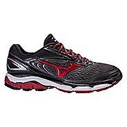 Mens Mizuno Wave Inspire 13 Running Shoe - Dark Grey/Red 8