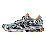 Mens Mizuno Wave Inspire 13 Running Shoe - Grey/Orange 9