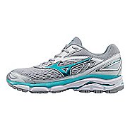 Womens Mizuno Wave Inspire 13 Running Shoe - Silver/Turquoise 12