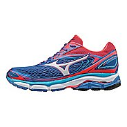 Womens Mizuno Wave Inspire 13 Running Shoe - Blue/Diva Pink 8.5