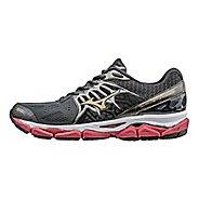 Mens Mizuno Wave Horizon Running Shoe - Dark Grey/Red 7